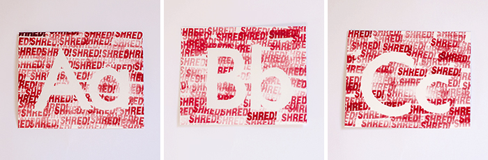 Office-letters-shred-stamp