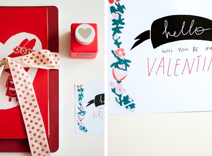 Valentine-print